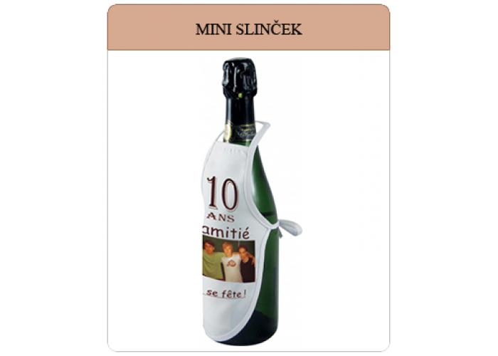 Mini slinček s fotografijo za steklenico
