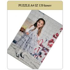 Puzzle velikosti A4 30x20cm iz 120 kosov